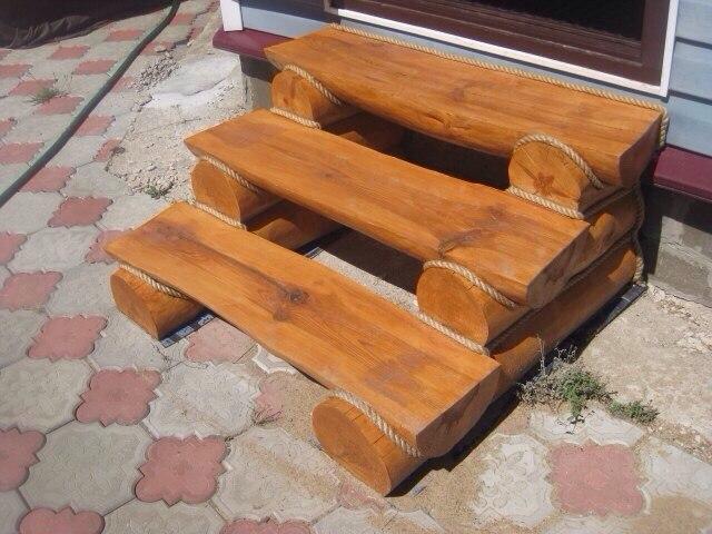 канат декоративный ступени
