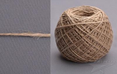шнур джутовый, волокно