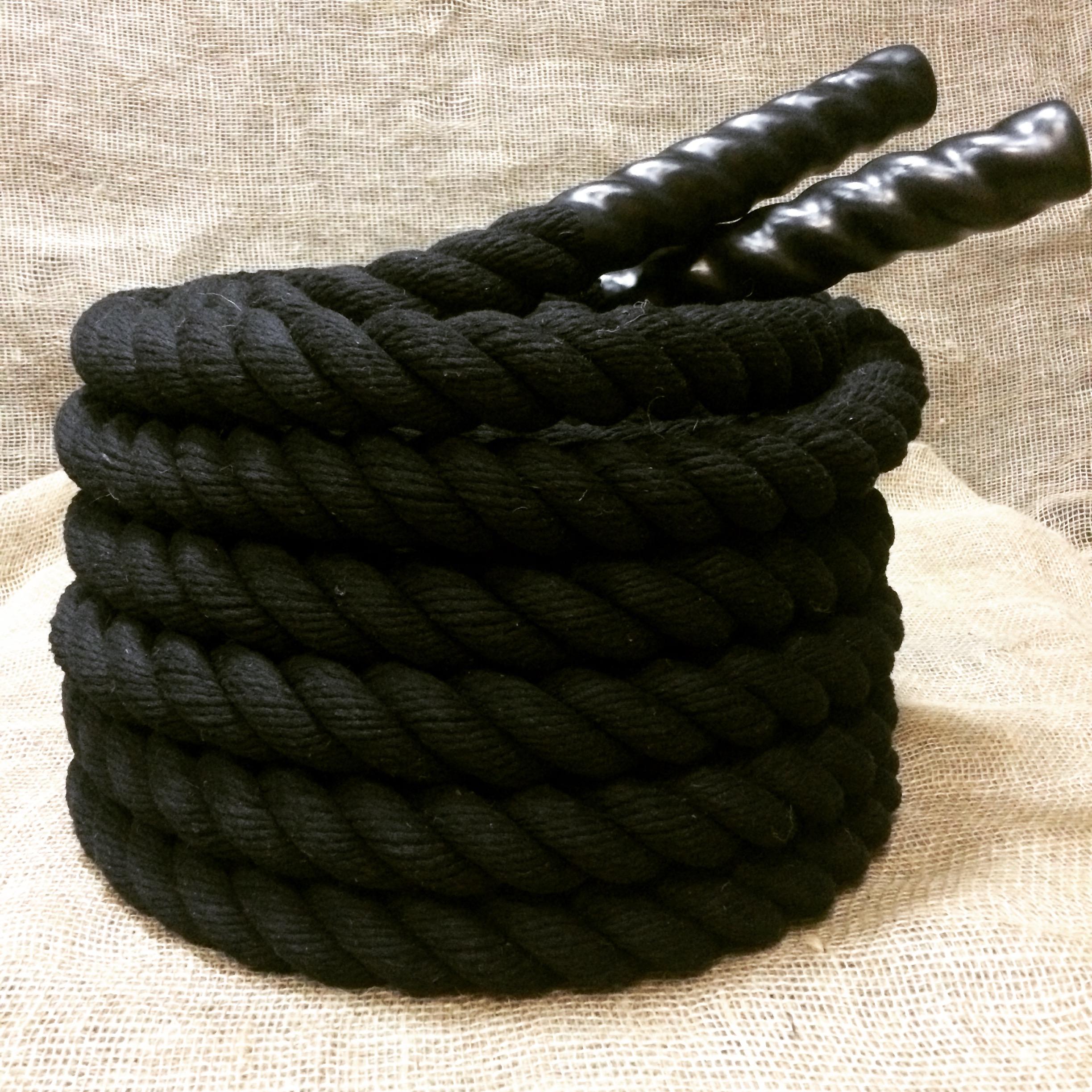 Канат для кроссфита черный 40мм