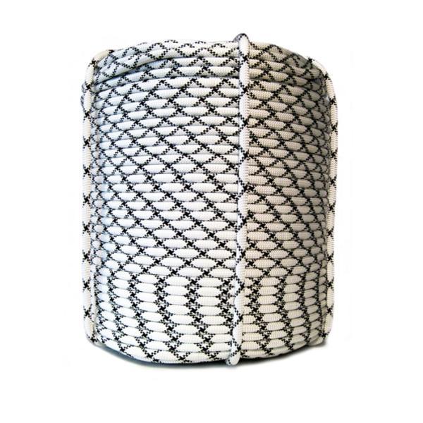 Веревка плетеная полиамидная с сердечником24-прядная 8мм