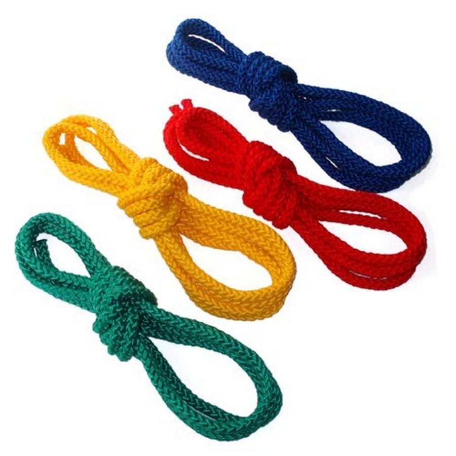 Веревка гимнастическая 10мм (с люрексом)