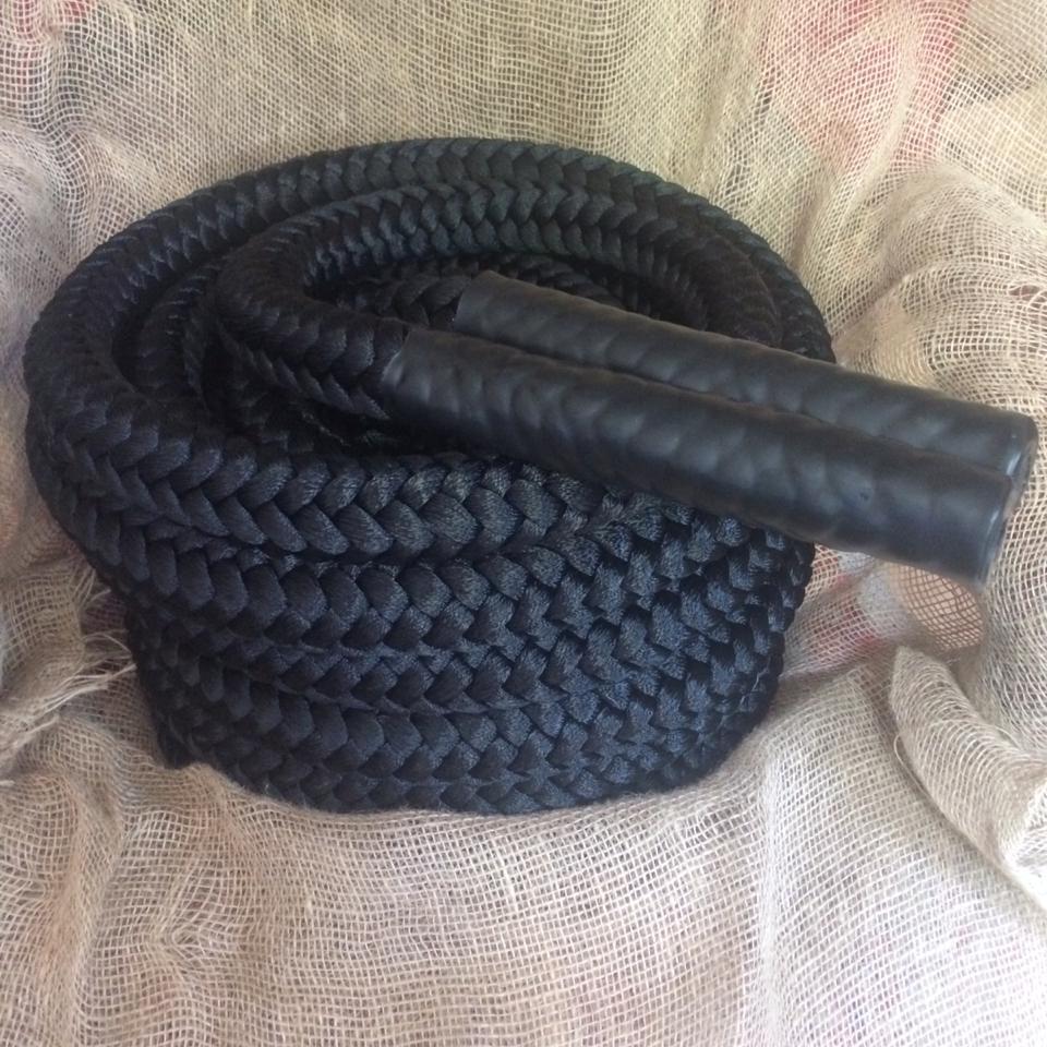 Канат для кроссфита нейлоновый 12-прядный 40мм